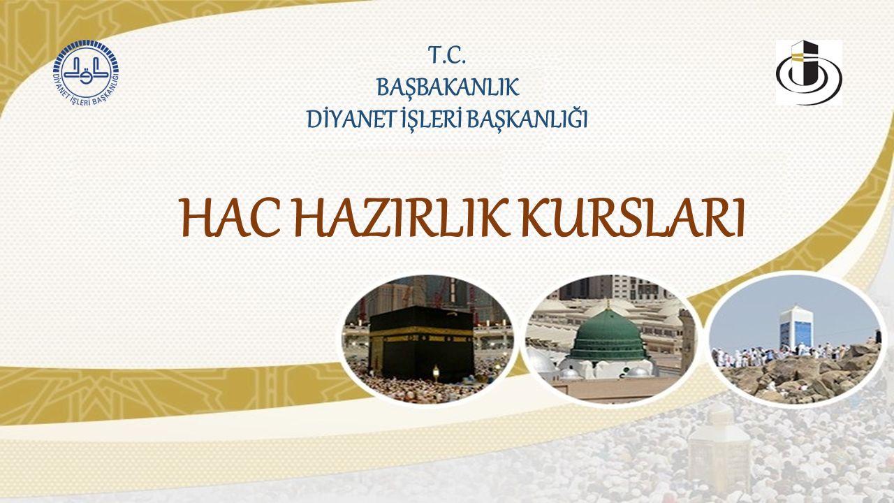 T.C.BAŞBAKANLIK DİYANET İŞLERİ BAŞKANLIĞI 7.