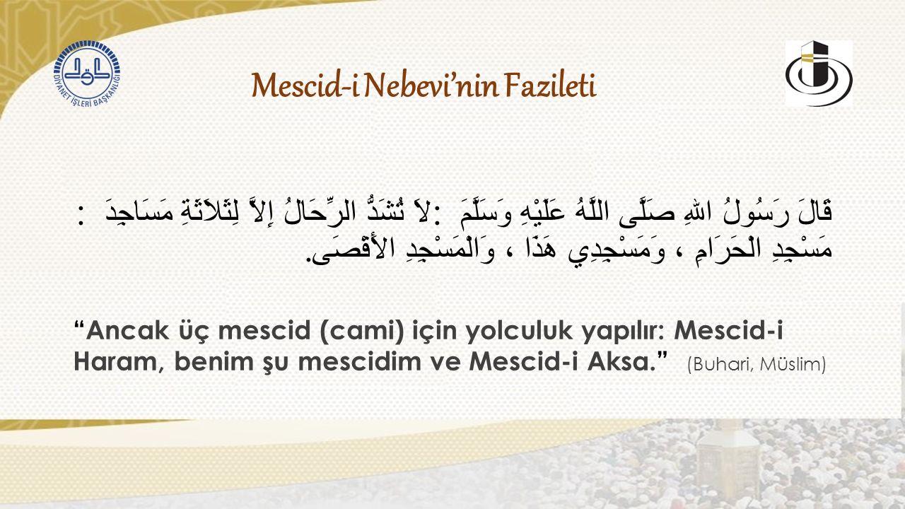 İmar Hizmetleri Osmanlı'nın Medine'de Yaptığı Hizmetler Kanunî devrinde mescidin minareleri yenilenmiş; hat ve tezhip çalışmalarıyla kubbeler ve mihraplar tezyin edilmiştir.