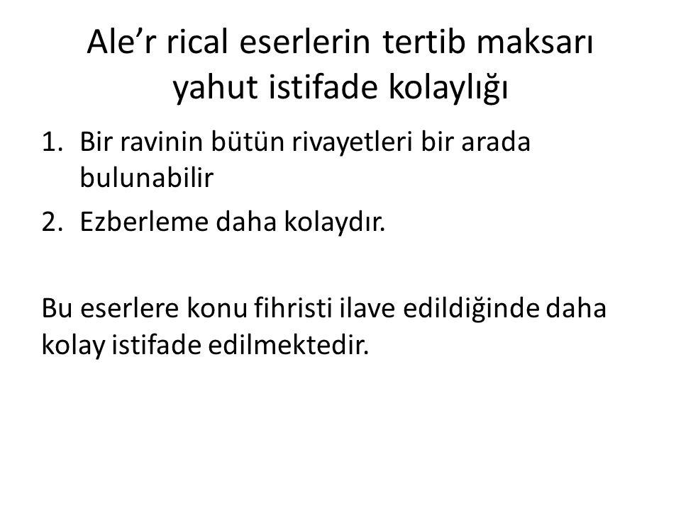 Tirmizî'nin altı ravisi: – 1.Ebul Abbas Muhammed b.