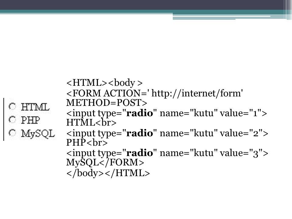 HTML PHP MySQL