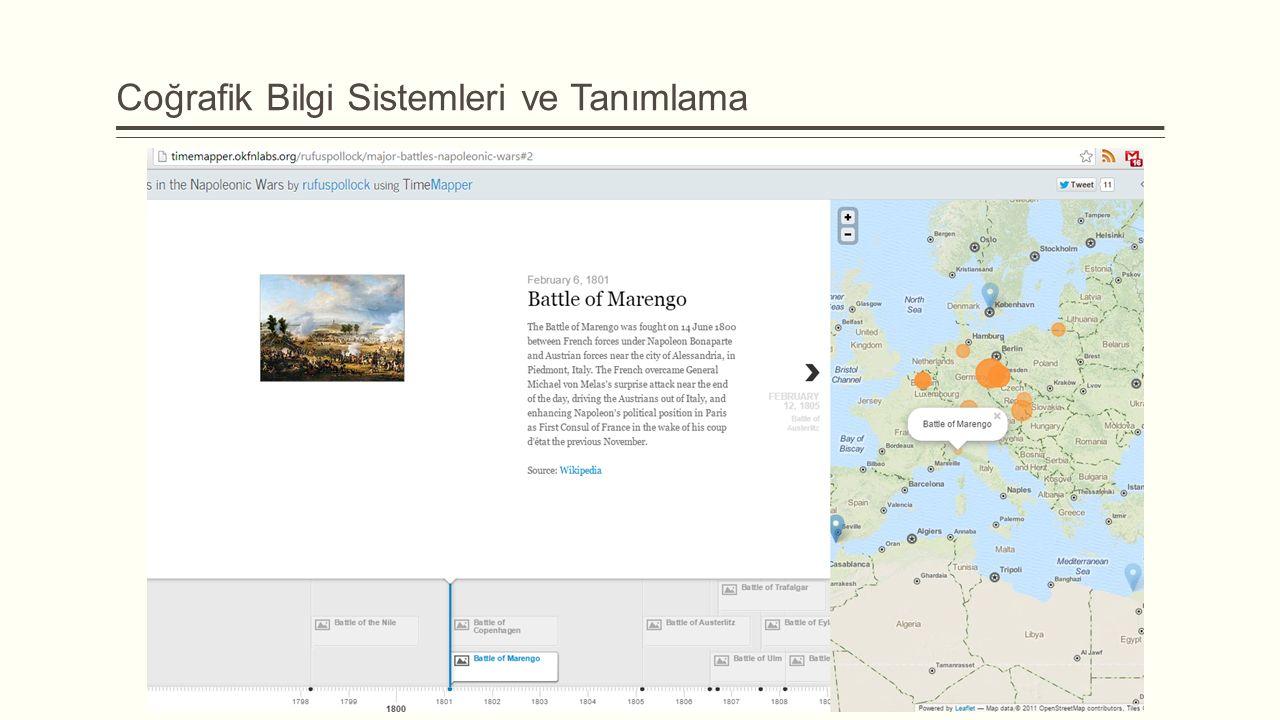 Coğrafik Bilgi Sistemleri ve Tanımlama