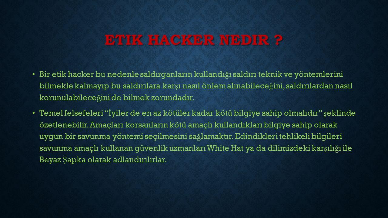 ETIK HACKER NEDIR .