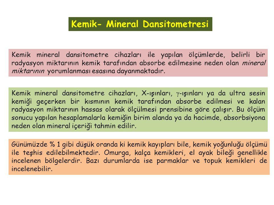 Kemik mineral yoğunluğu kemik gücünün ölçülebilir biçimidir.