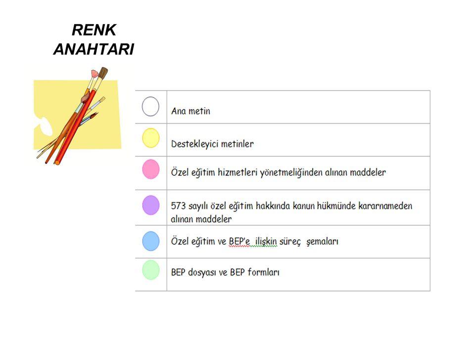 RENK ANAHTARI