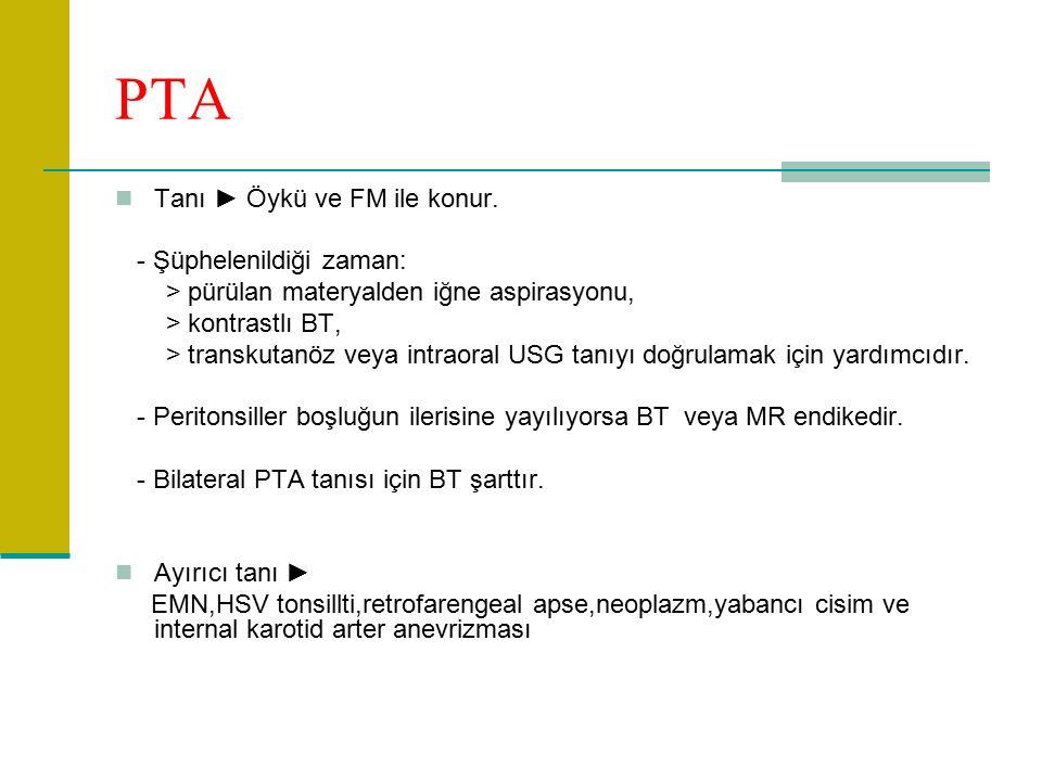 PTA Tanı ► Öykü ve FM ile konur.
