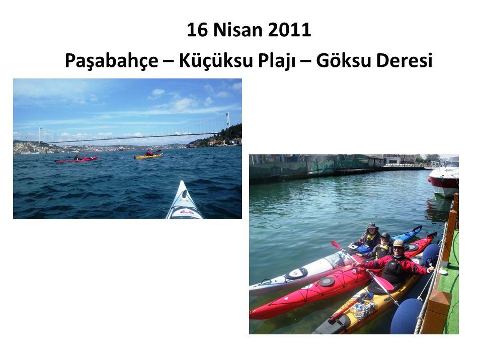 16 Nisan 2011 Paşabahçe – Küçüksu Plajı – Göksu Deresi