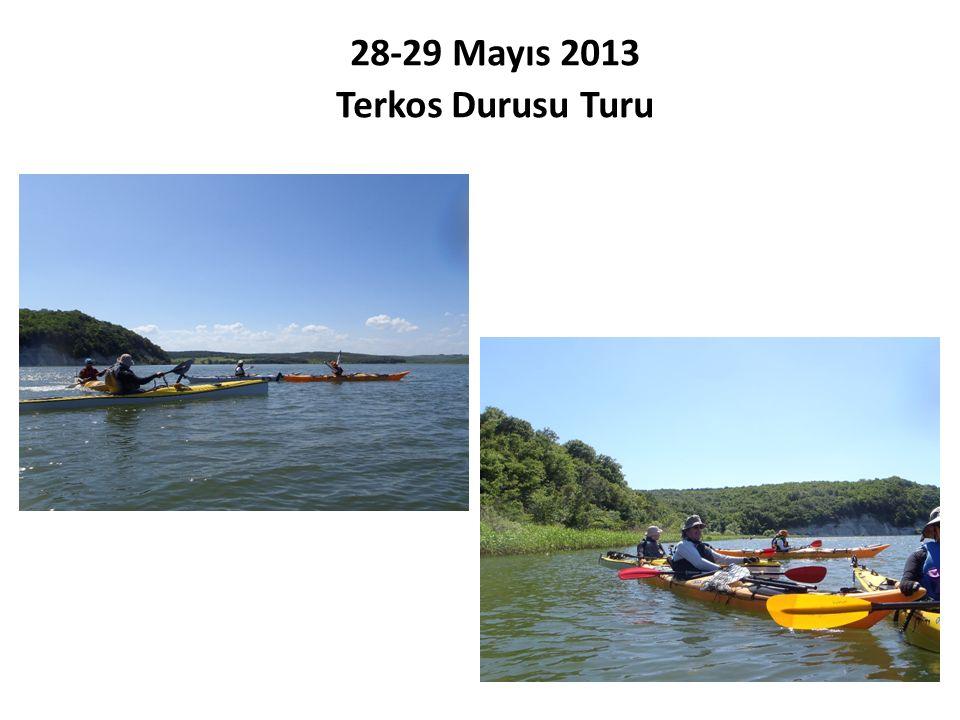 28-29 Mayıs 2013 Terkos Durusu Turu
