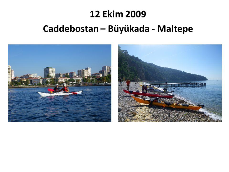12 Ekim 2009 Caddebostan – Büyükada - Maltepe