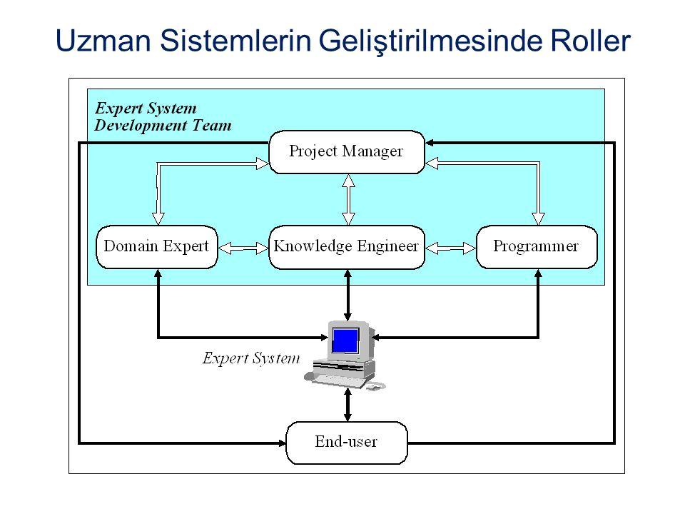Uzman Sistemlerin Geliştirilmesinde Roller