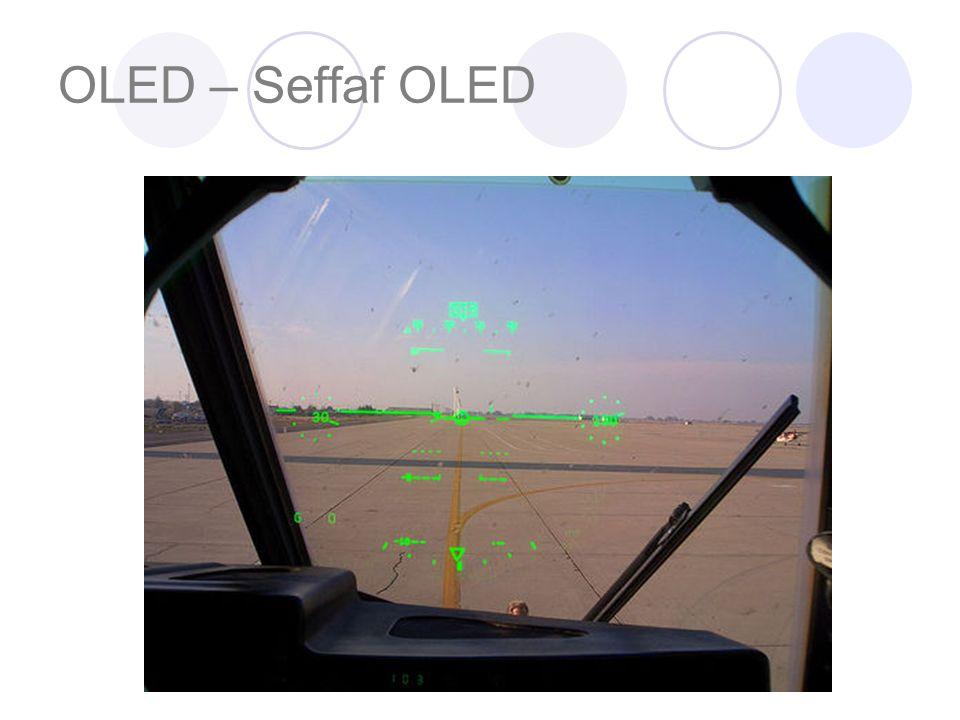 OLED – Seffaf OLED