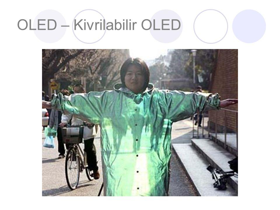 OLED – Kivrilabilir OLED