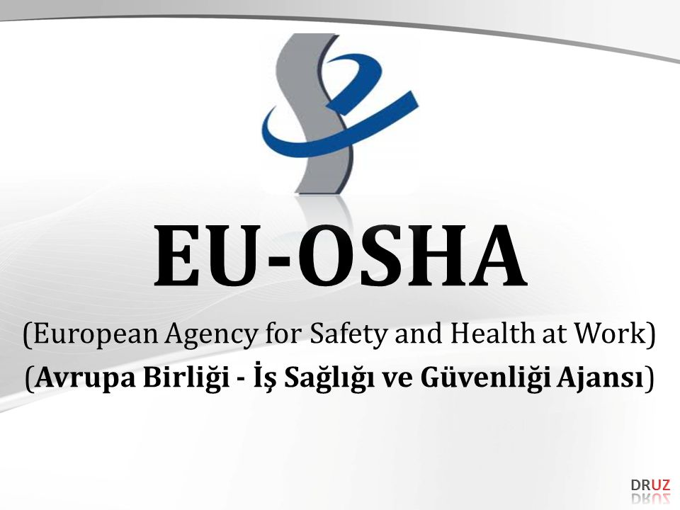 EU-OSHA (European Agency for Safety and Health at Work) (Avrupa Birliği - İş Sağlığı ve Güvenliği Ajansı)