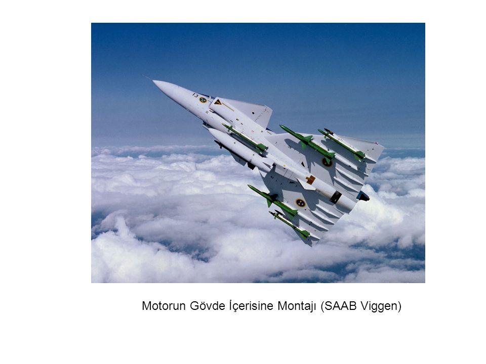 Motorun Gövde İçerisine Montajı (SAAB Viggen)