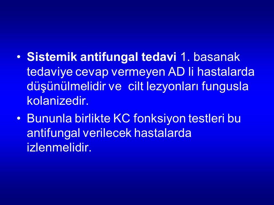 Sistemik antifungal tedavi 1.