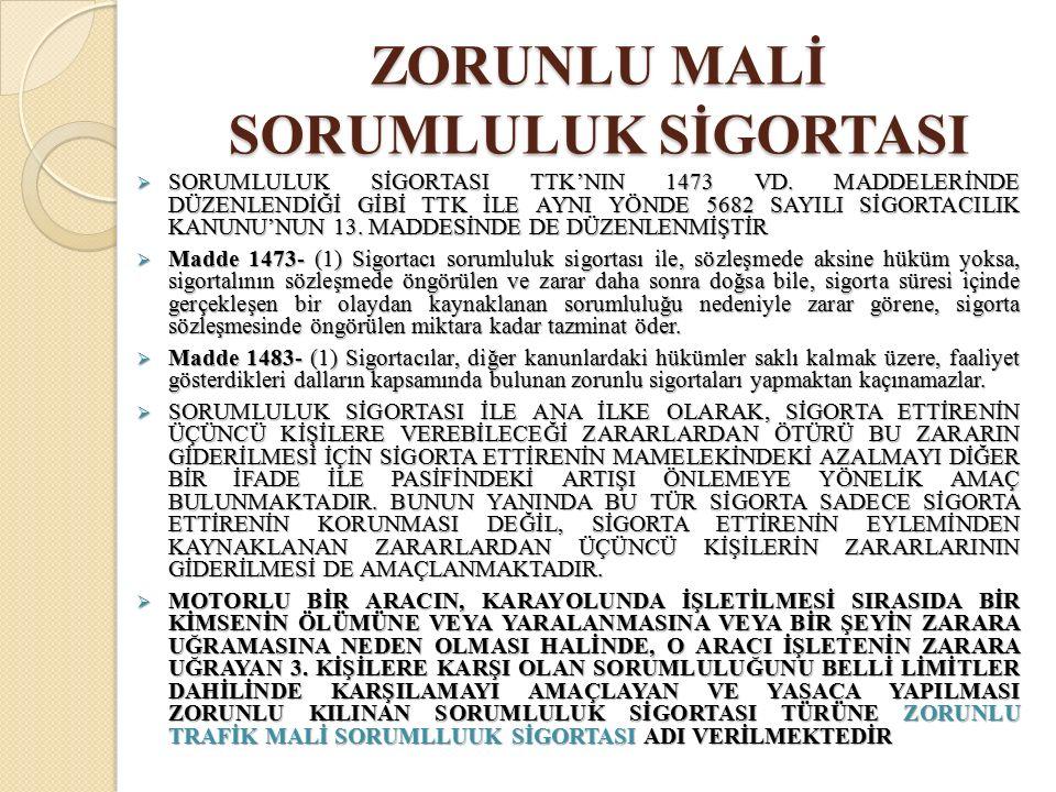  3-SORUMLULUĞUN SINIRLANDIRILMASI  SORUMLULUĞUN AZALTILDIĞI HALLERE ÖRNEK KTK 86/II VE 87.