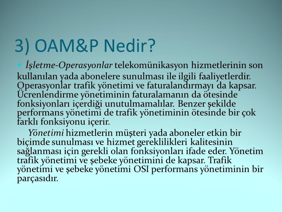 3) OAM&P Nedir.