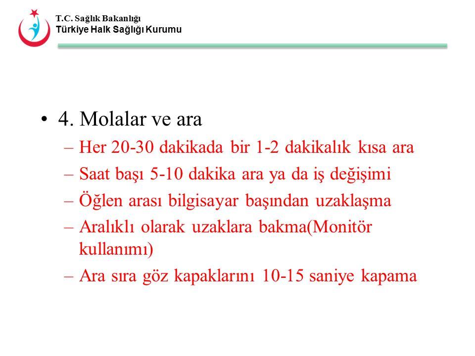T.C. Sağlık Bakanlığı Türkiye Halk Sağlığı Kurumu 4.