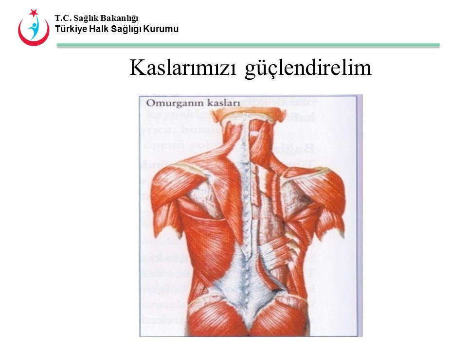 T.C. Sağlık Bakanlığı Türkiye Halk Sağlığı Kurumu Kaslarımızı güçlendirelim