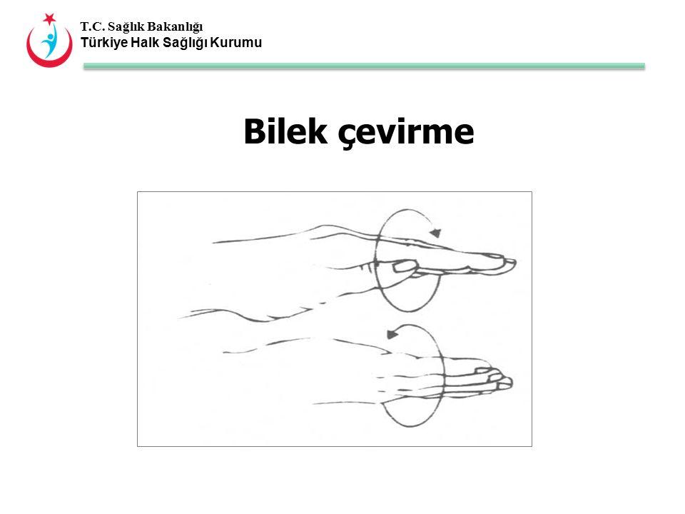T.C. Sağlık Bakanlığı Türkiye Halk Sağlığı Kurumu Bilek çevirme