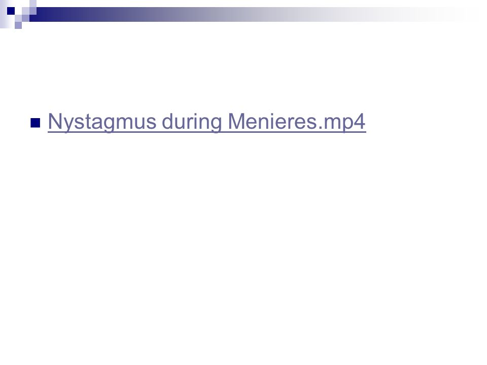 Nystagmus during Menieres.mp4