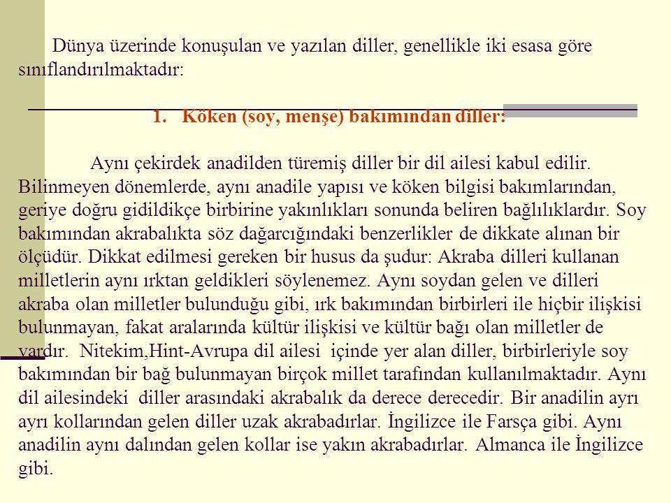 Batı Türkçesinin Gelişmesi: Batı Türkçesi, kendi içinde üç döneme ayrılır.