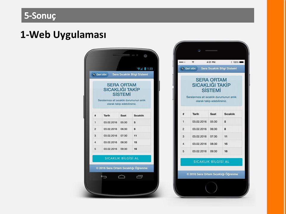 1-Web Uygulaması
