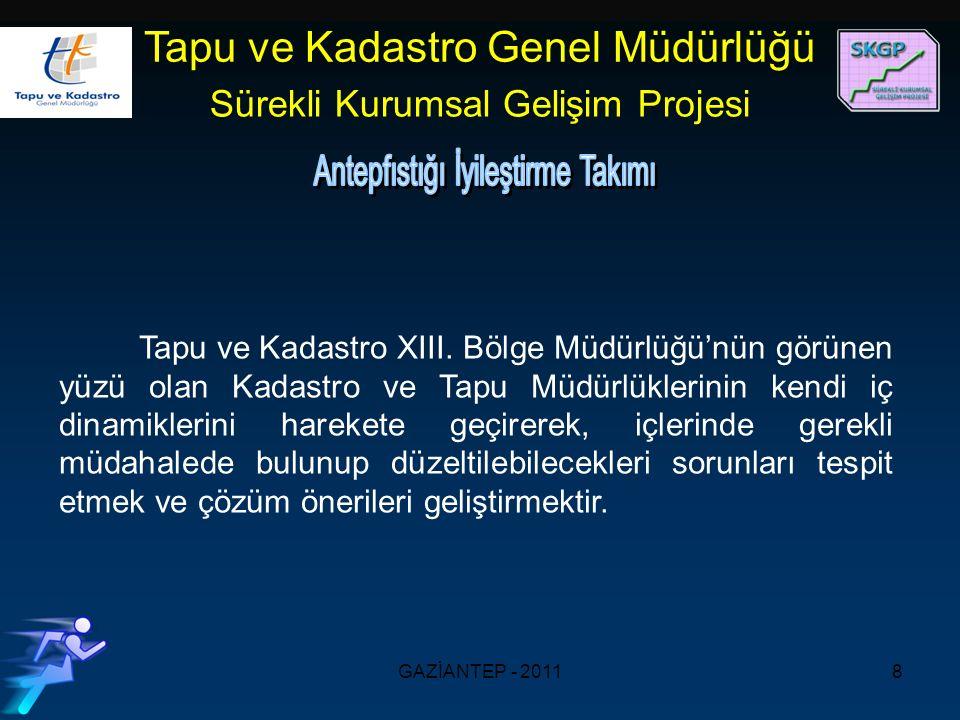GAZİANTEP - 20118 Tapu ve Kadastro XIII.