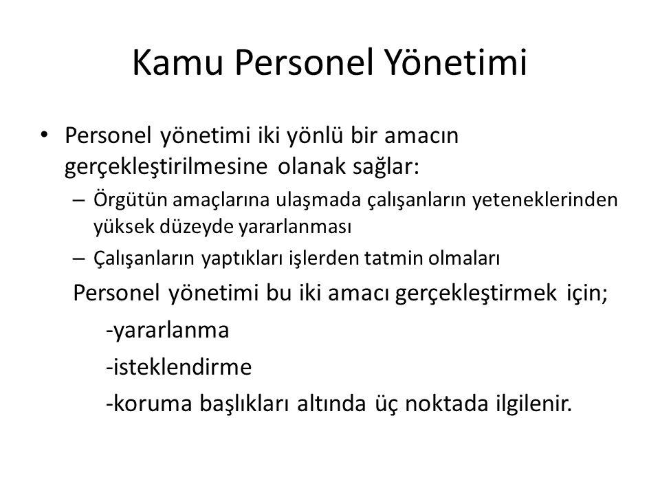 Kamu Personel Yönetimi İkinci Dönem:Planlı Dönem Öncesi (1949-1959) – Thonrburg Raporu-1949/1950 Türkiye Nasıl Yükselir.