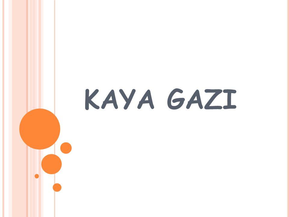 KAYA GAZI
