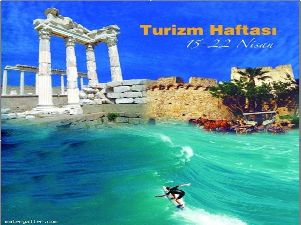 Turizm Haftası, toplumda turizm bilincini geliştirmek, iç turizmi canlandırmak ve halkın turizm hareketlerine katılımını sağlamak amacıyla, her yıl 15 Nisan-22 Nisan tarihleri arasında kutlanan sosyal etkinliktir.