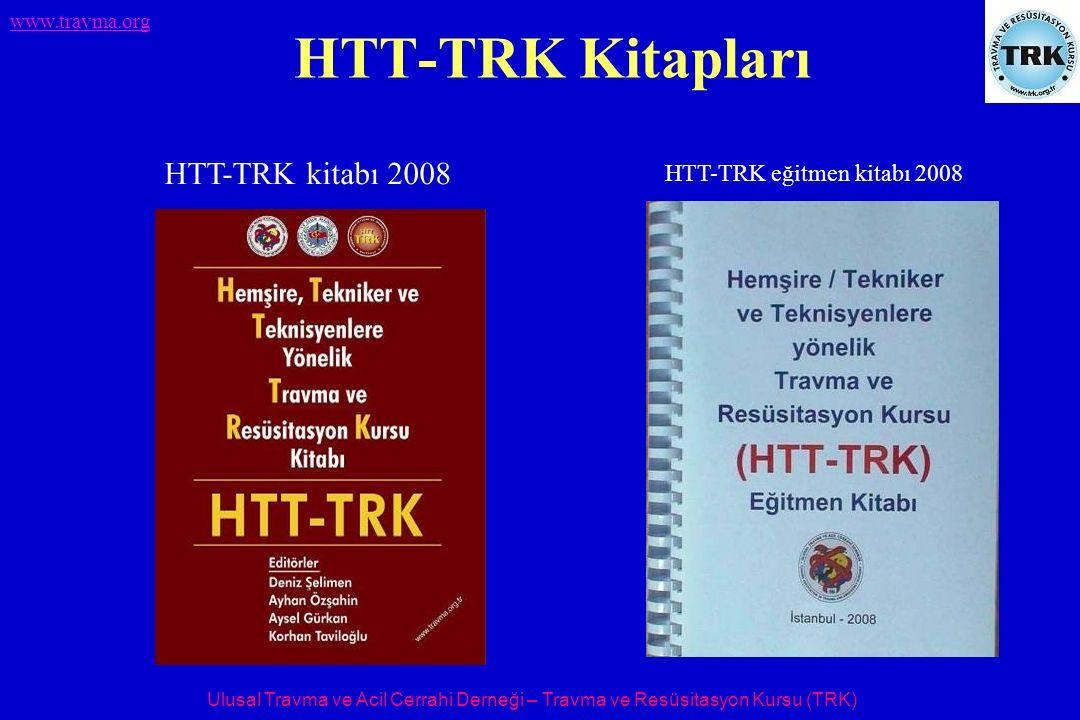Ulusal Travma ve Acil Cerrahi Derneği – Travma ve Resüsitasyon Kursu (TRK) www.travma.org HTT-TRK Kitapları HTT-TRK kitabı 2008 HTT-TRK eğitmen kitabı