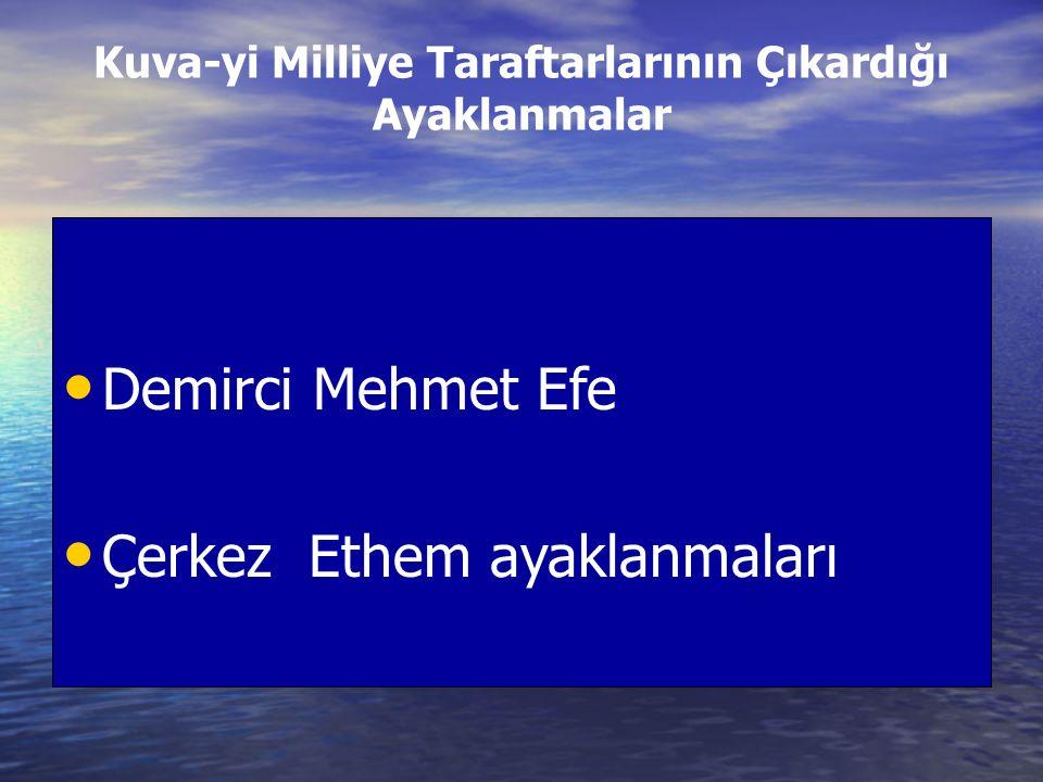 Menemen Olayı: Derviş Mehmet adında tarikat mensubu çıkardı Derviş Mehmet adında tarikat mensubu çıkardı Asteğmen Kubilay'ın başının kesilmesiyle devam eden olaylar askerler tarafından bastırılıp isyancılar idam edildi.
