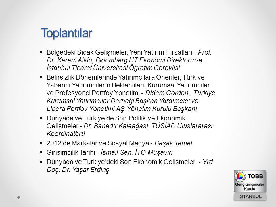  Bölgedeki Sıcak Gelişmeler, Yeni Yatırım Fırsatları - Prof. Dr. Kerem Alkin, Bloomberg HT Ekonomi Direktörü ve İstanbul Ticaret Üniversitesi Öğretim