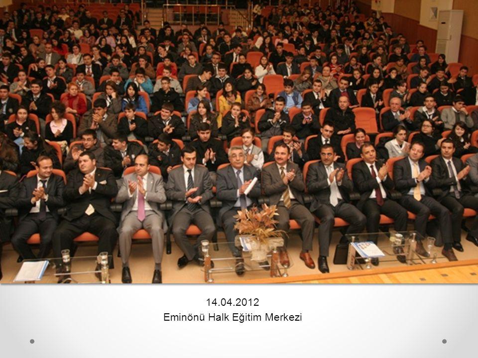 14.04.2012 Eminönü Halk Eğitim Merkezi