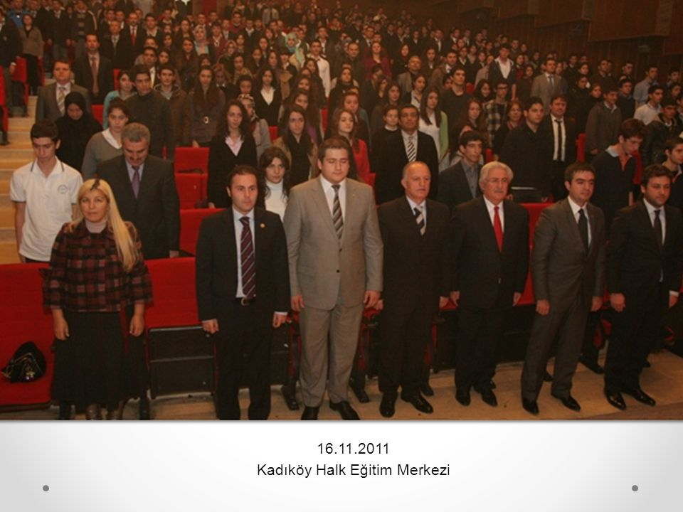16.11.2011 Kadıköy Halk Eğitim Merkezi