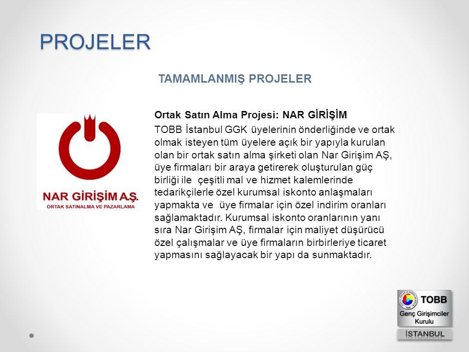 Ortak Satın Alma Projesi: NAR GİRİŞİM TOBB İstanbul GGK üyelerinin önderliğinde ve ortak olmak isteyen tüm üyelere açık bir yapıyla kurulan olan bir o