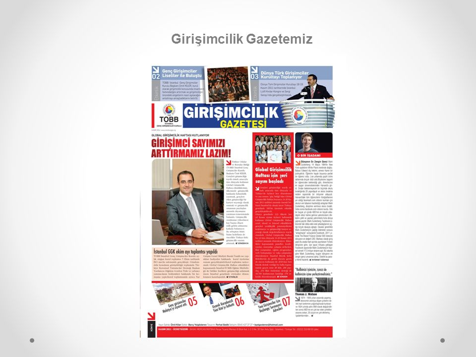 Girişimcilik Gazetemiz