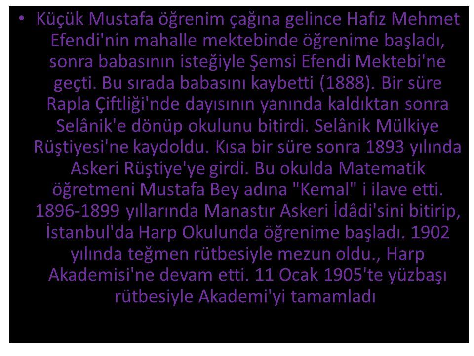 Atatürk Türkiye yi Çağdaş uygarlık düzeyine çıkarmak amacıyla bir dizi devrim yaptı.
