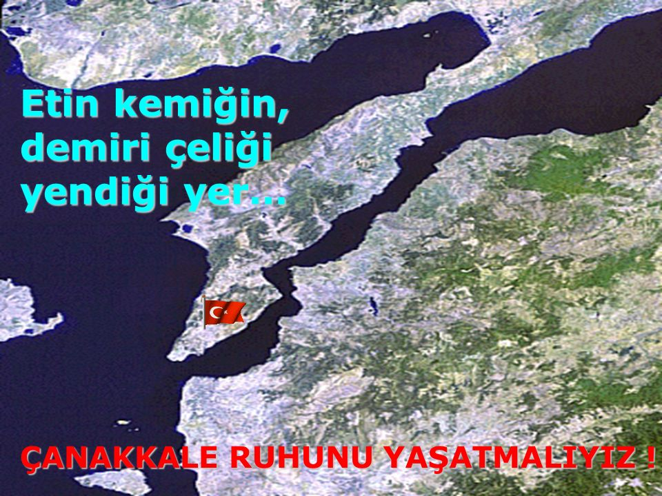 Esat Paşa DestanYazdıÇanakkale'de…