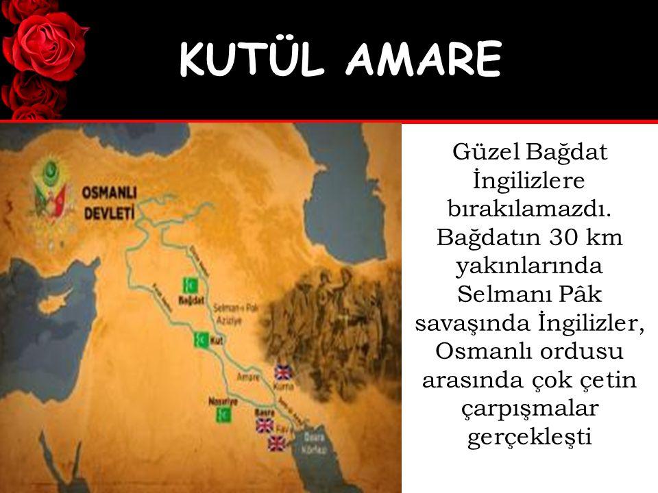 Selmanı Pâk savaşında çok fazla kayıp veren İngilizler, Osmanlı ordusu karşısında büyük bir yenilgi aldılar.