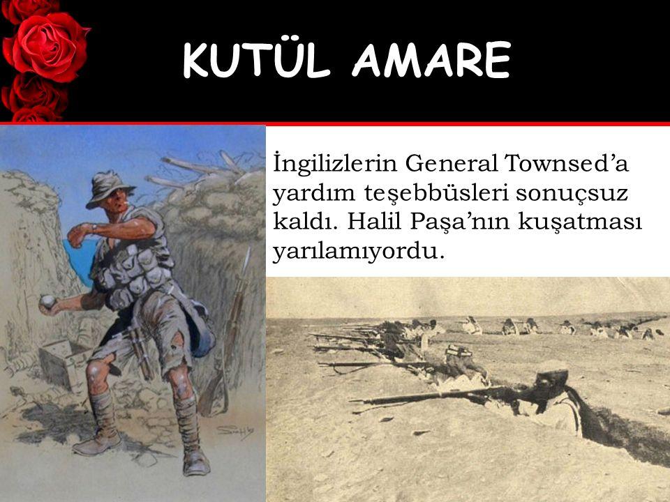 Bugün Irak topraklarındaki Türk şehitlikleri Osmanlı ordusunun bu topraklardan kolay vazgeçmediğinin en büyük kanıtıdır.