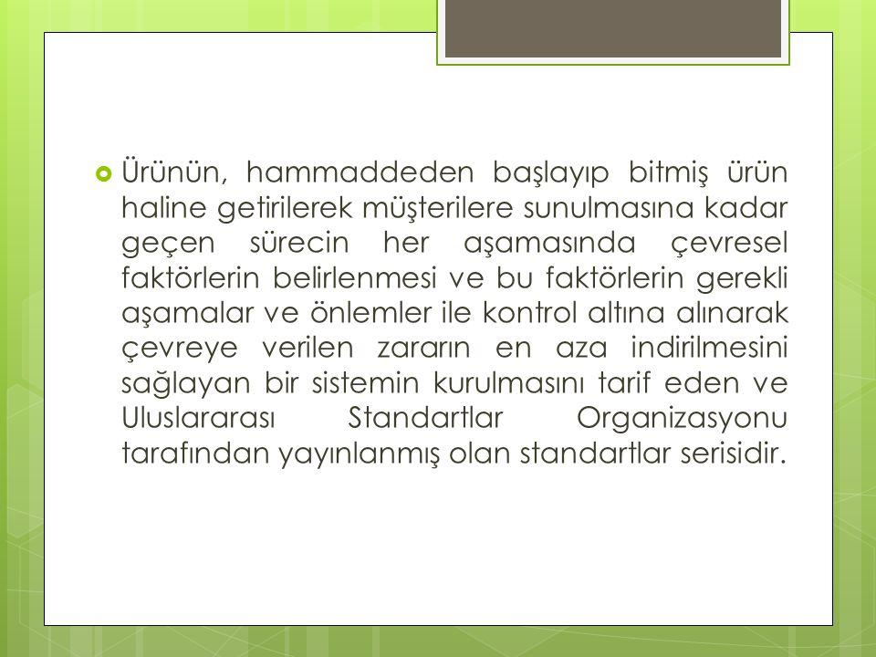 ÇYS Standardı, Kuruluşu neyin önemli olduğunu saptaması konusunda serbest bırakmıştır.