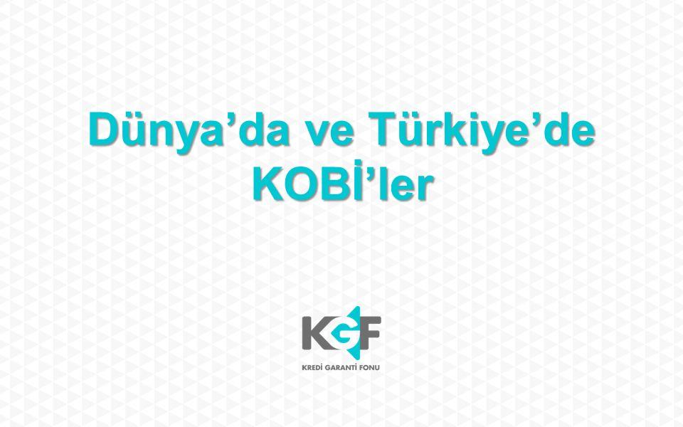 Dünya'da ve Türkiye'de KOBİ'ler