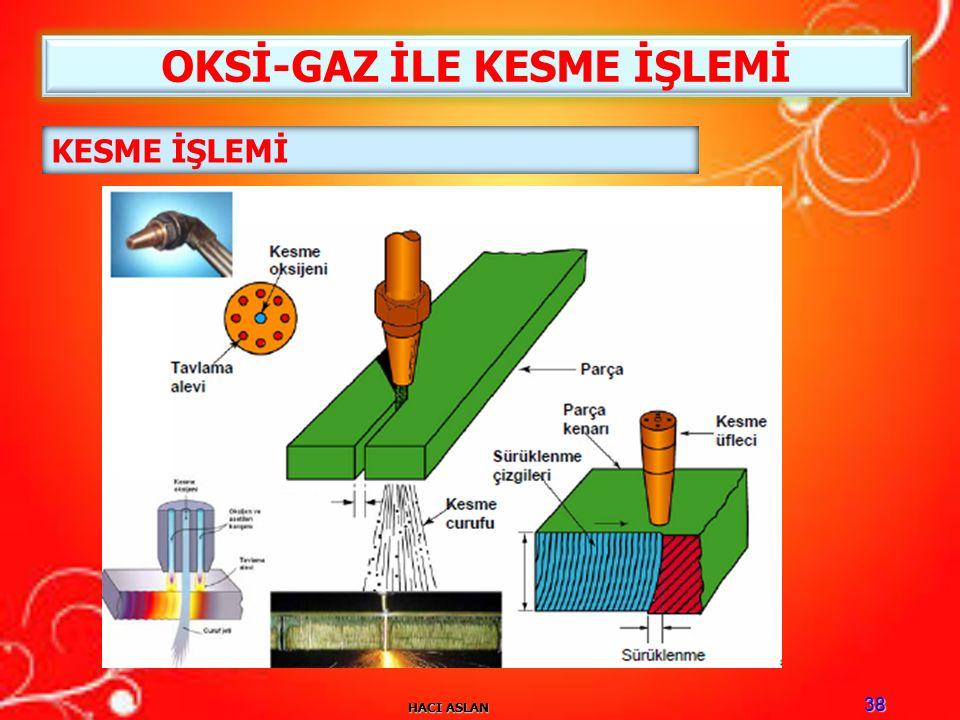 HACI ASLAN 38 KESME İŞLEMİ OKSİ-GAZ İLE KESME İŞLEMİ