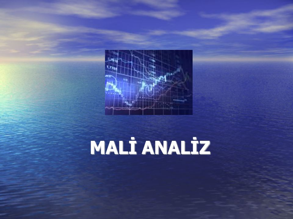 MALİ ANALİZ