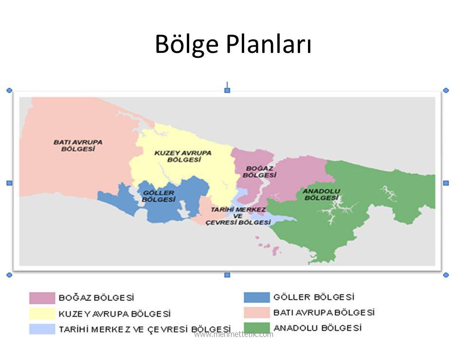 Bölge Planları www.mehmettetik.com