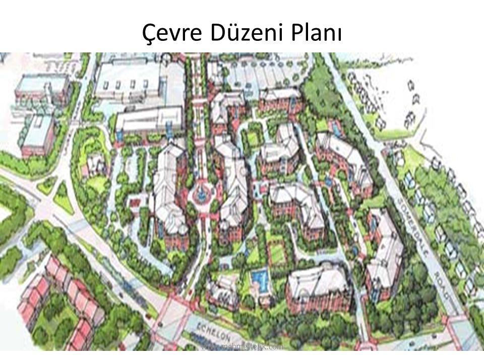 Çevre Düzeni Planı www.mehmettetik.com