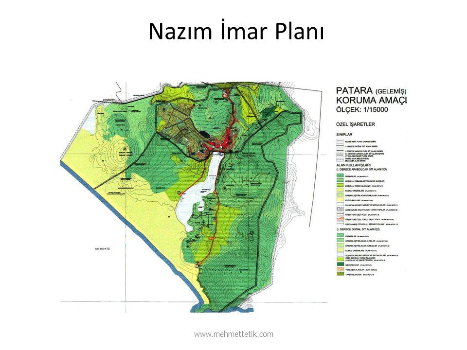Nazım İmar Planı www.mehmettetik.com