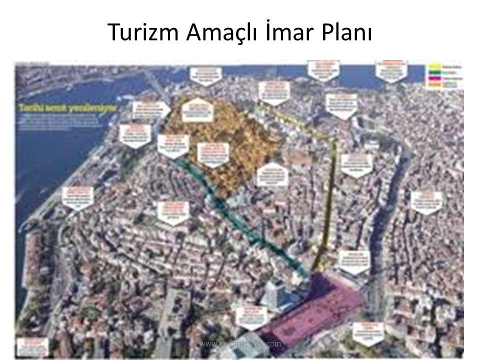 Turizm Amaçlı İmar Planı www.mehmettetik.com