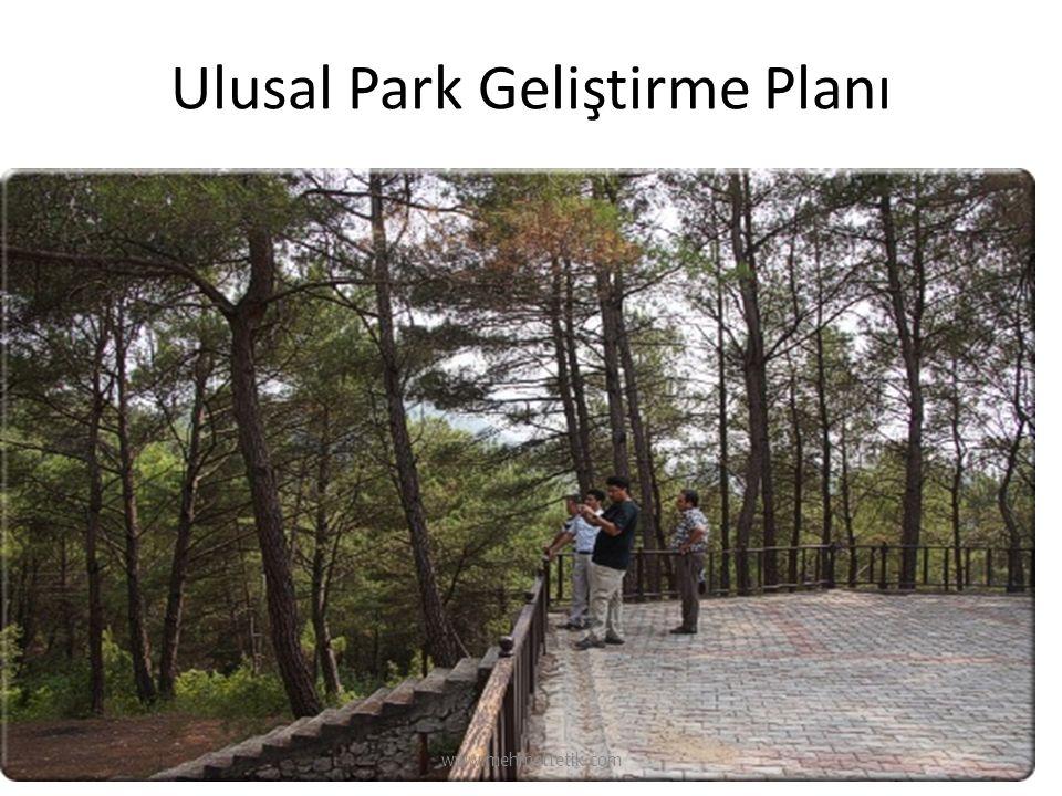 Ulusal Park Geliştirme Planı www.mehmettetik.com